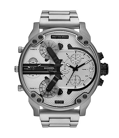 Diesel Mr. Daddy 2.0 Chronograph Stainless Steel Watch