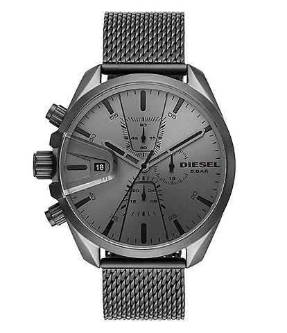 Diesel MS9 Chronograph Gunmetal Stainless Steel Watch