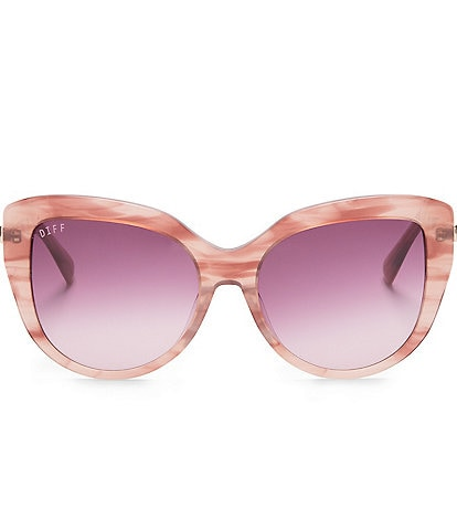 DIFF Eyewear Avery Cat Eye Sunglasses