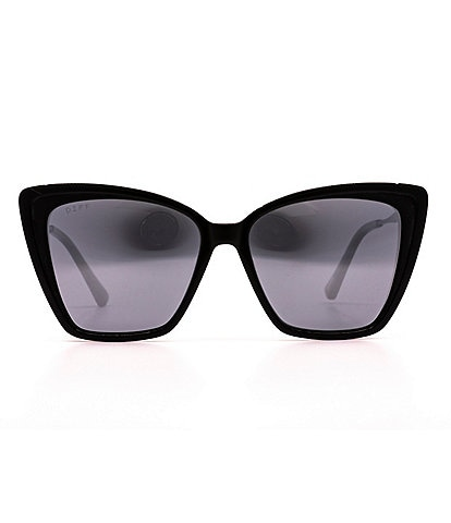 DIFF Eyewear Becky II Cat Eye Polarized 57mm Sunglasses