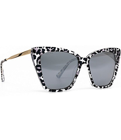 DIFF Eyewear Becky II Tortoise Cat Eye Sunglasses