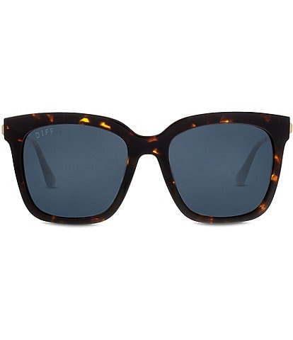 Diff Eyewear Bella Polarized Oversized Square Sunglasses