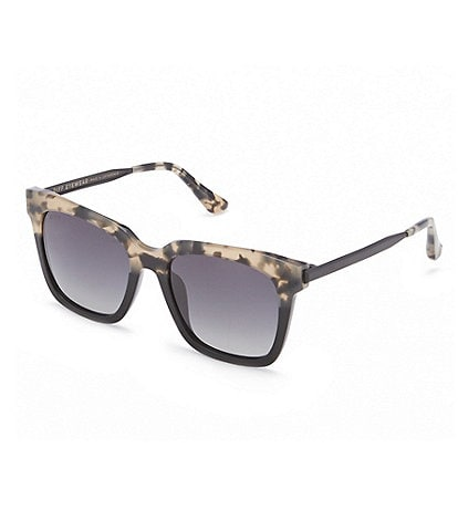 DIFF Eyewear Bella Over-Sized Polarized Sunglasses