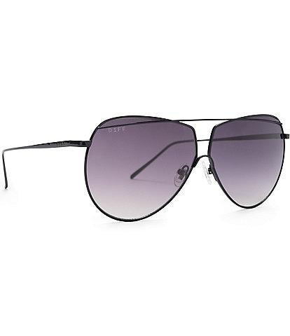DIFF Eyewear Maeve Aviator Sunglasses