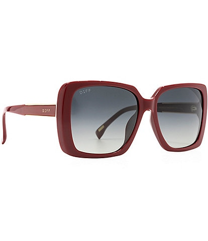 DIFF Eyewear Oversized Square Sunglasses