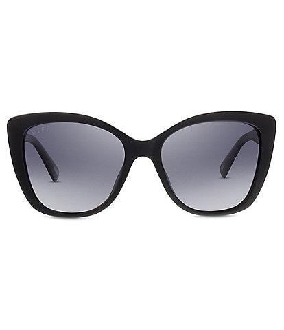 DIFF Eyewear Ruby Cat Eye Polarized Sunglasses