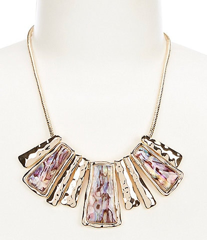Dillard's Abalone Frontal Necklace