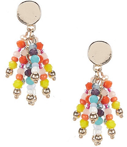 Dillard's Beaded Tassel Earrings