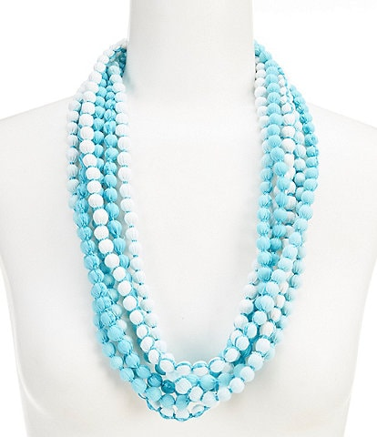 Dillard's Coiled Beaded Necklace