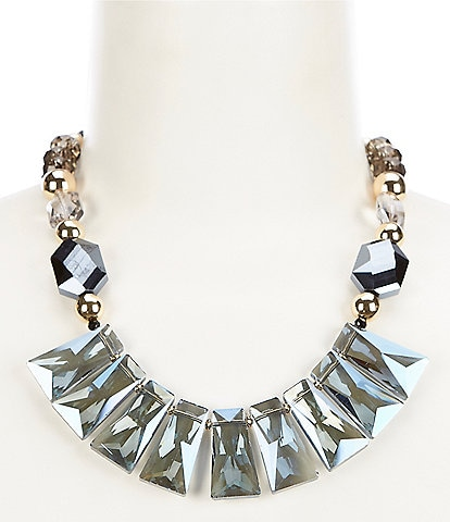 Dillard's Geometric Bead Collar Necklace