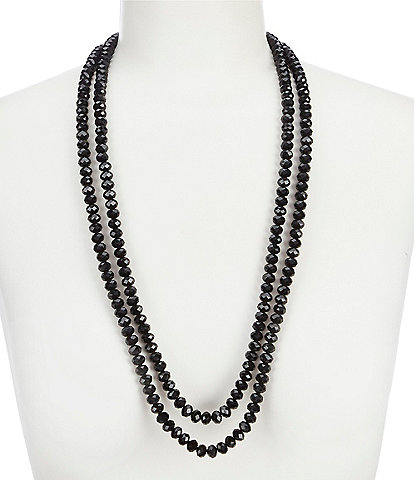 Dillard's Long Stand Necklace
