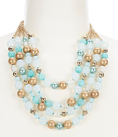 Dillard's Short Multi Strand Necklace