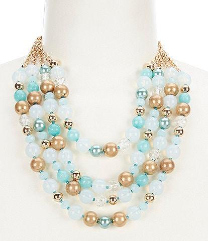 Dillard's Short Multi Strand Necklace