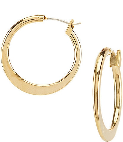 Dillard's Tailored Graduated Hoop Earrings