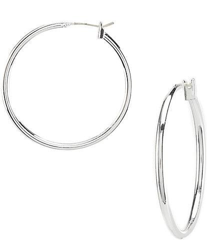 Dillard´s Tailored Hoop Earrings