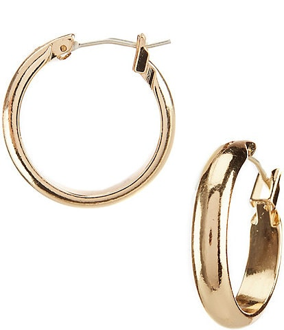 Dillard's Tailored Small Hoop Earrings