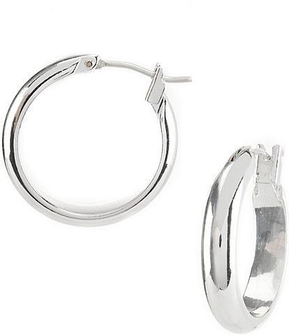 Dillard's Tailored Hoop Earrings