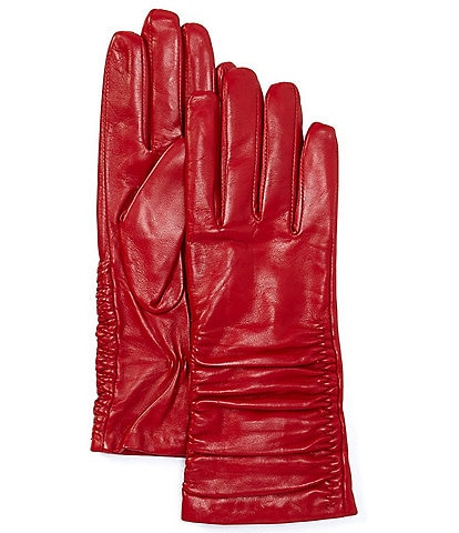 Dillard's Women's Ruched Leather Glove