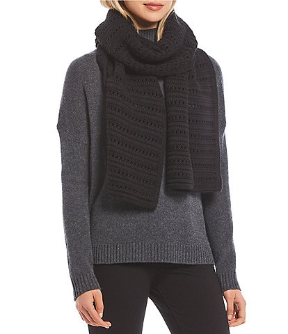 Dillard's Women's Tuck Stitch Oblong Scarf