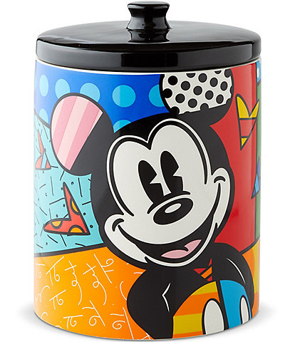 Disney by Britto Mickey Mouse Canister Jar