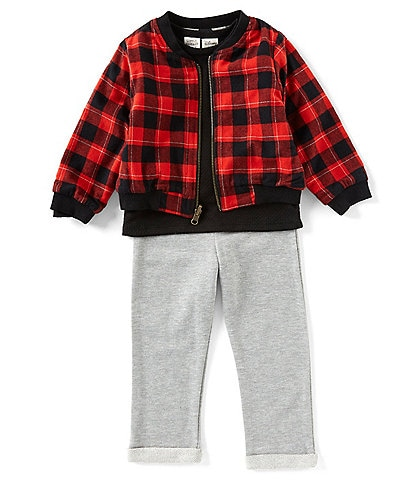 Disney x Little Brother Baby Boys 12-24 Months Mickey Reversible Bomber Jacket & Jogger Pant Set