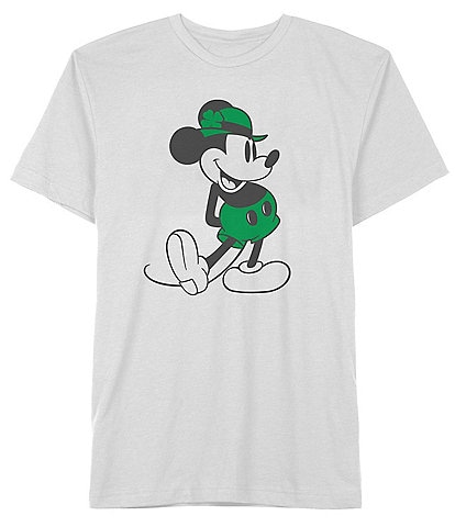Disney Mickey Stand Lucky Short-Sleeve Graphic T-Shirt