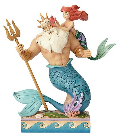Disney Traditions by Jim Shore Ariel and Triton #double;Daddy's Little Princess#double; Figurine