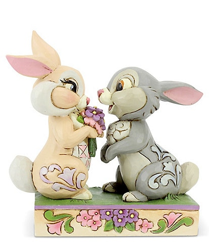 Disney Traditions by Jim Shore Bambi Thumper #double;Bunny Bouquet#double; Figurine