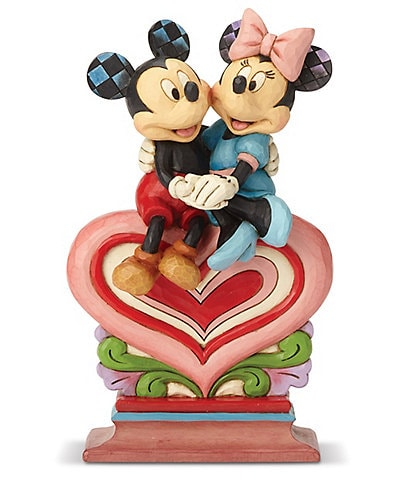 Disney Traditions by Jim Shore Collection Mickey and Minnie #double;Heart to Heart#double; Figurine