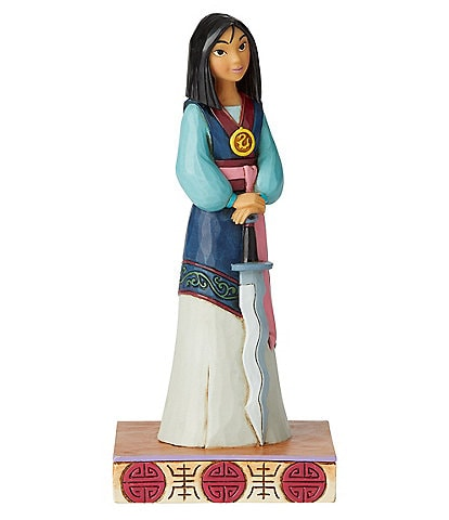 Disney Traditions by Jim Shore Mulan #double;Winsome Warrior#double; Princess Passion Figurine