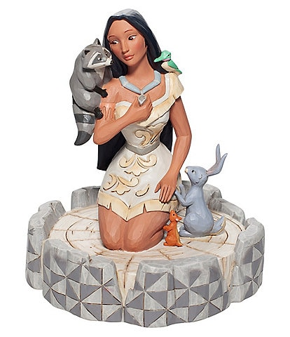 Disney Traditions by Jim Shore Pocahontas White Woodland Figurine