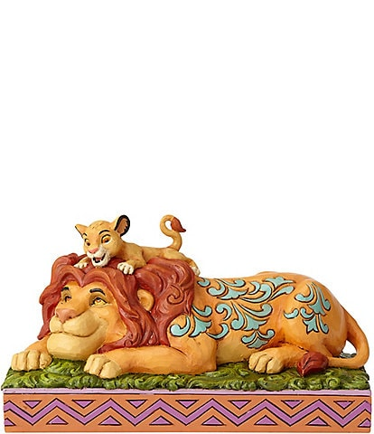 Disney Traditions by Jim Shore Simba & Mufasa #double;A Father's Pride#double; Figurine