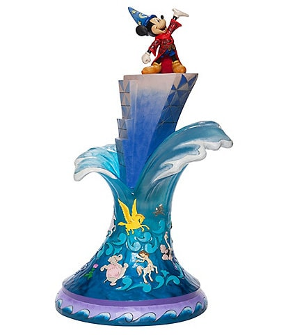 Disney Traditions by Jim Shore Sorcerer Mickey Mouse Masterpiece Figurine