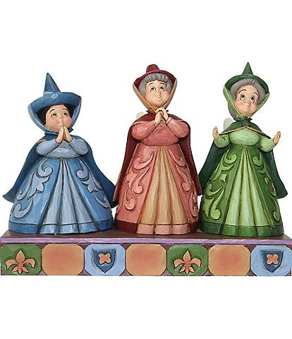 Disney Traditions by Jim Shore #double;Three Fairies#double; Figurine