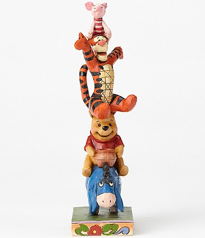 Disney Traditions Collection by Jim Shore Winnie the Pooh and Pals #double;Built by Friendship#double; Figurine