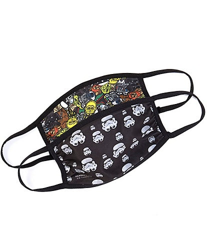 Disney x Capelli New York Boys Star Wars 2-Pack Face Masks
