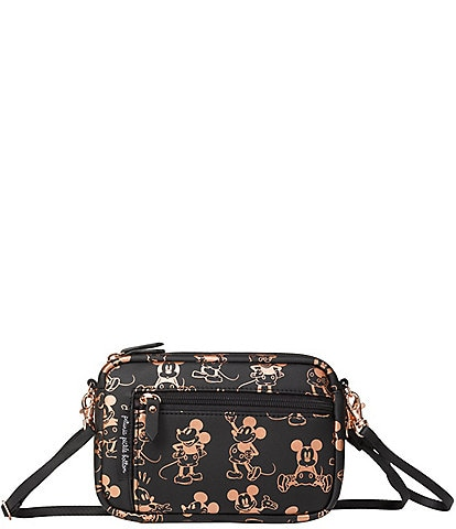 Disney x Petunia Pickle Bottom Adventurer Belt Bag - Metallic Mickey Mouse