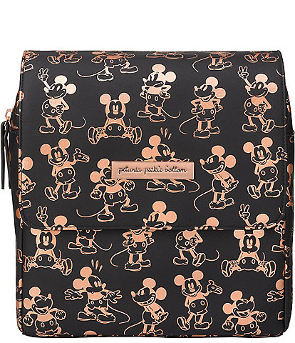 Disney x Petunia Pickle Bottom Mini Boxy Backpack Diaper Bag - Mickey Mouse