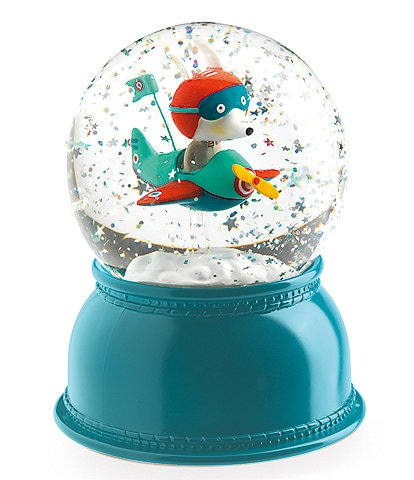 Djeco Airplane Snow Ball Night Light