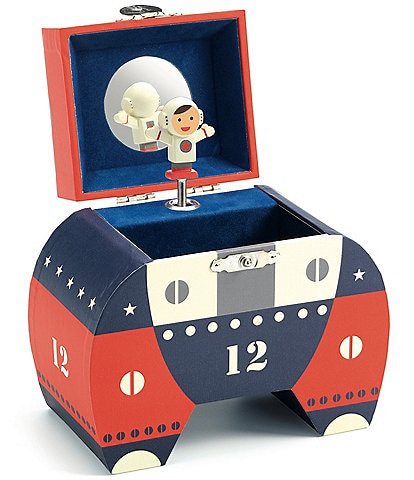 Djeco Apollo Astronaut Treasure/Music Box