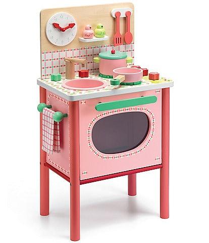 Djeco Lila's Wooden Cooker Set