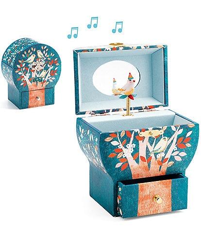 Djeco Night Singing Musical Jewelry Box