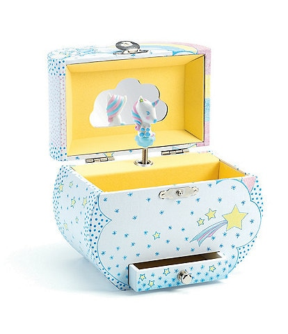 Djeco Unicorn Music Treasure Box