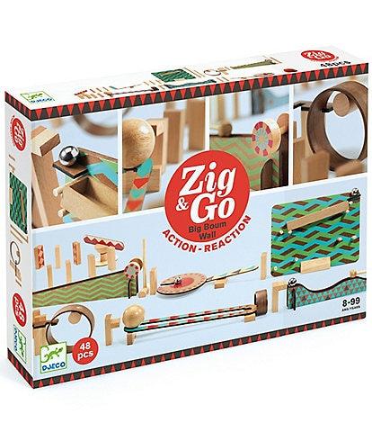 Djeco Zig and Go Big Boum Wall Chain Reaction Construction Set - 48 pc