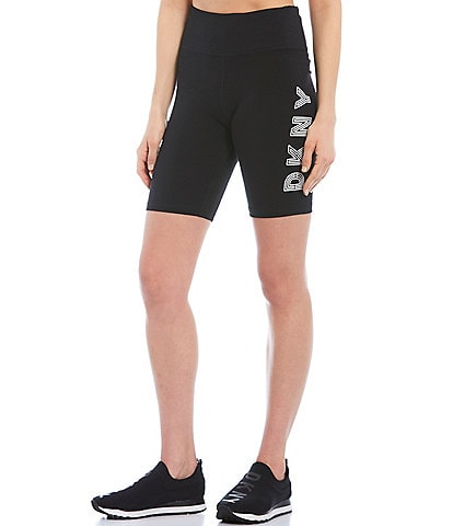 DKNY High Waist 8 Track Logo Short