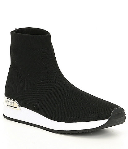 DKNY Marrin Stretch Knit Sock Sneakers