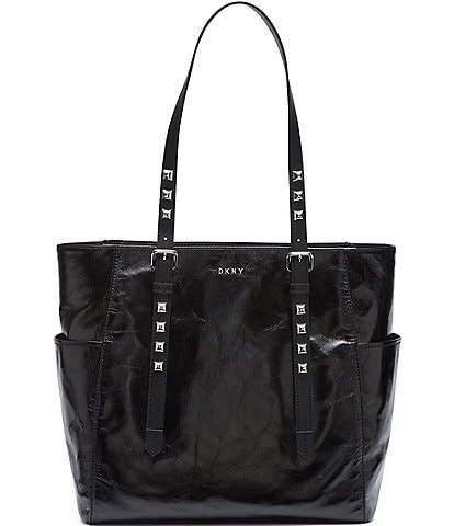 DKNY Naomi Studded Leather Tote