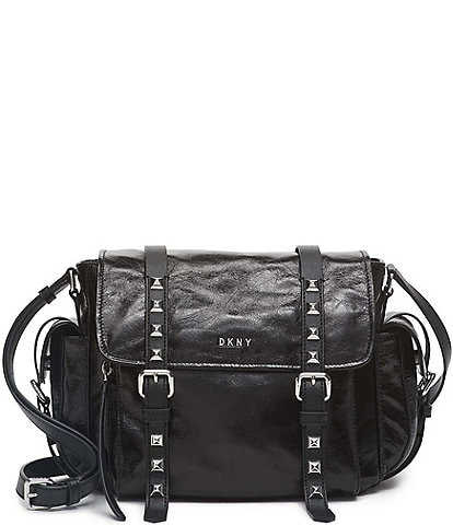 DKNY Naomi Studded Messenger Crossbody Bag