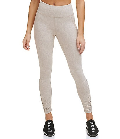 DKNY Sport High Waisted 7/8 Ruched Leggings