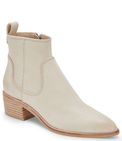 Dolce Vita Able Nubuck Leather Western Booties